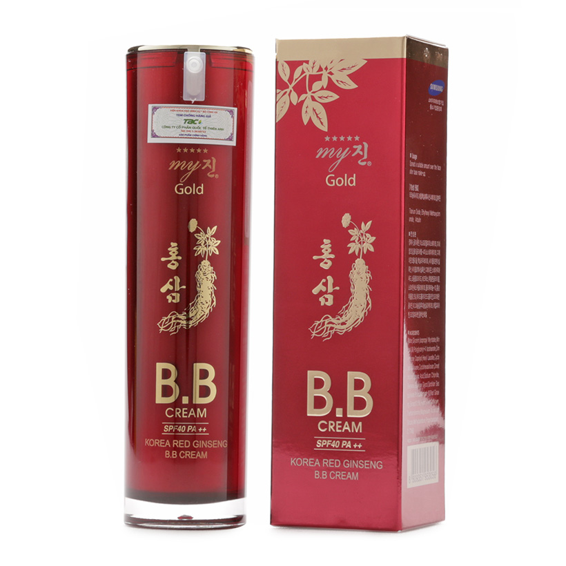 KEM LÓT MY GOLD KOREA RED GINGSENG B.B SPF40 PA++